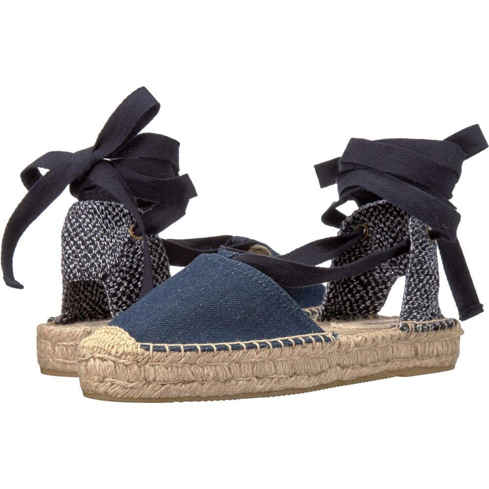 ソルドス レディース シューズ・靴 サンダル・ミュール【Denim Platform Gladiator Sandal】Dark Denim