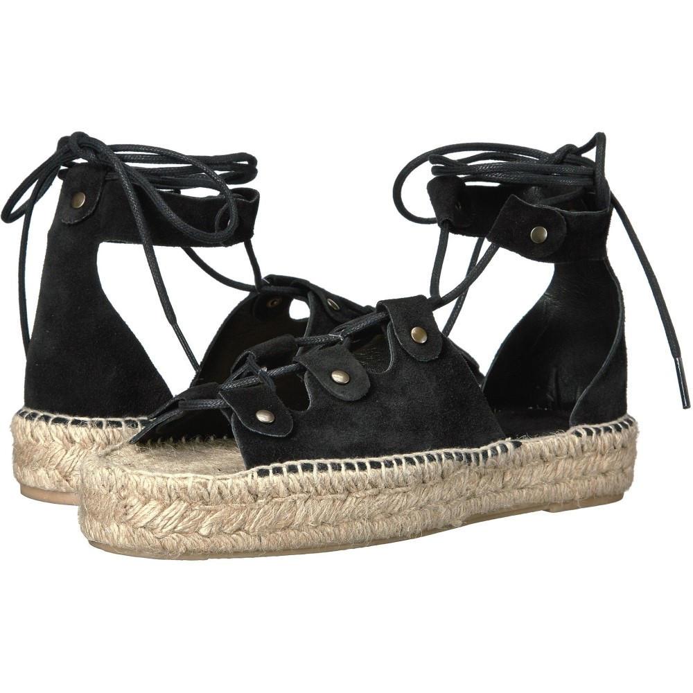 ソルドス レディース シューズ・靴 サンダル・ミュール【Ghillie Platform Sandal】Black
