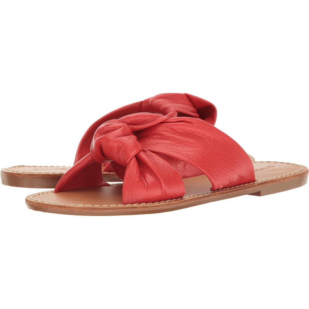 ソルドス レディース シューズ・靴 サンダル・ミュール【Knotted Slide Sandal】Fire Red