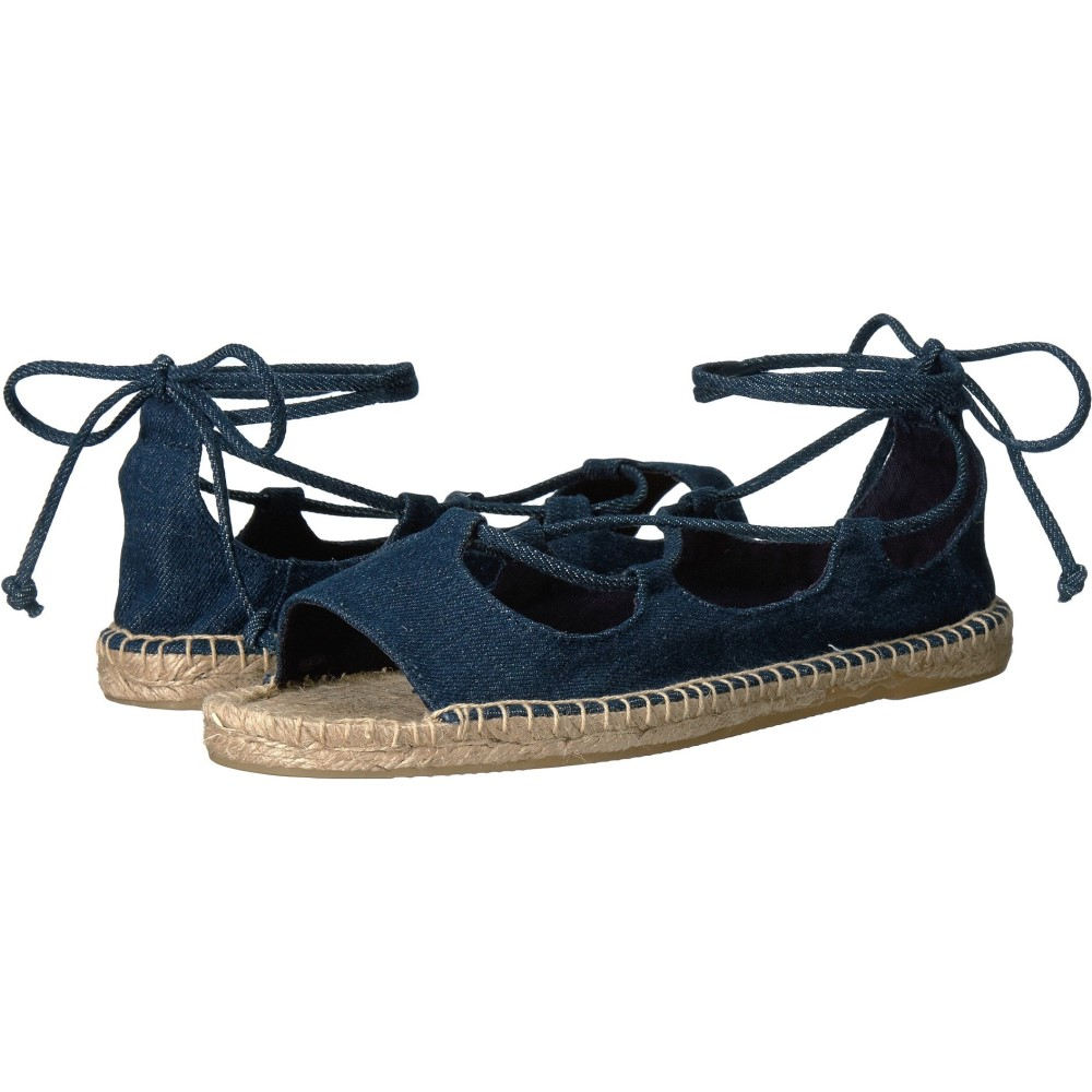 ソルドス レディース シューズ・靴 サンダル・ミュール【Biarritz Sandal】Dark Denim