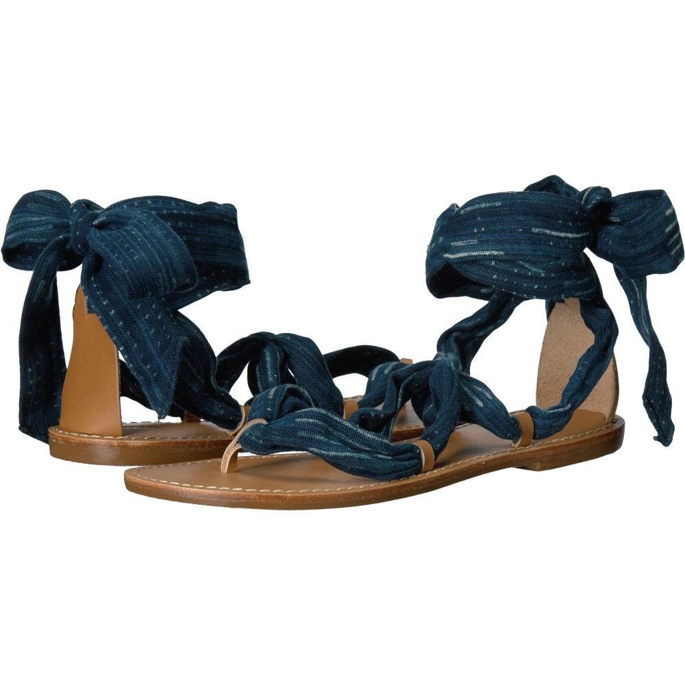 ソルドス レディース シューズ・靴 サンダル・ミュール【Bandana Sandal】Indigo