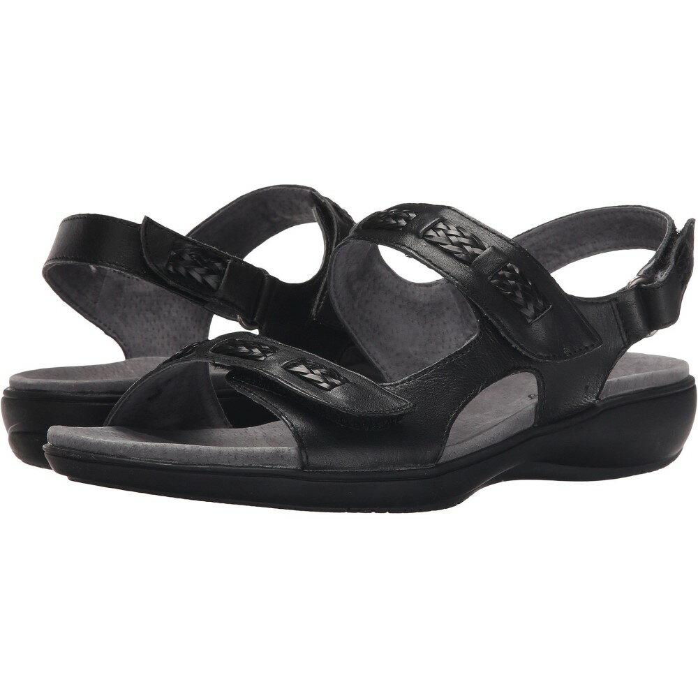 トロッターズ レディース シューズ・靴 サンダル・ミュール【Kip】Black Vegetable Calf Leather