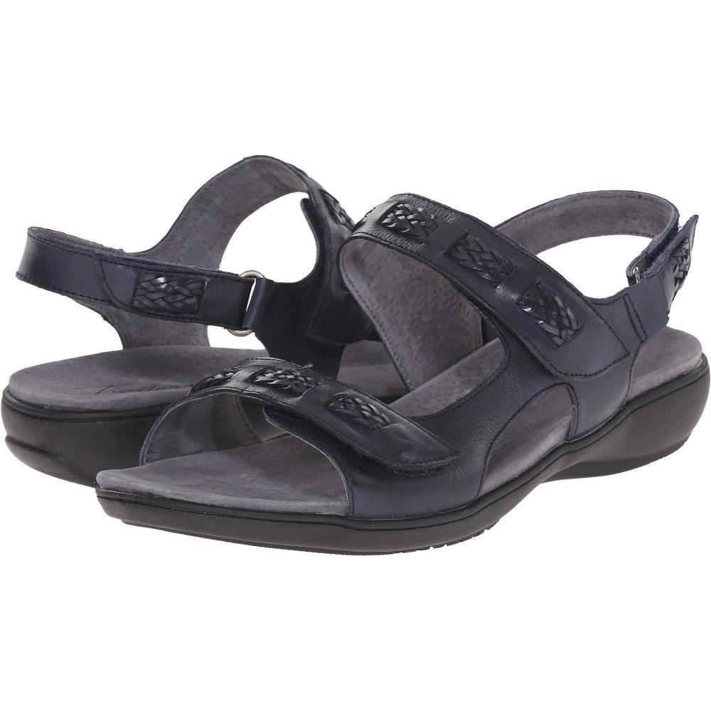 トロッターズ レディース シューズ・靴 サンダル・ミュール【Kip】Navy Vegetable Calf Leather