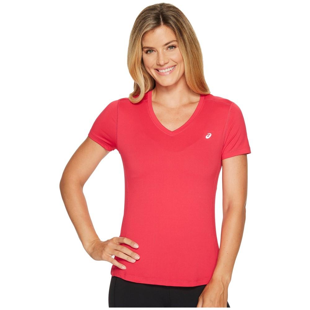 アシックス レディース トップス Tシャツ【ASX Dry Short Sleeve Shirt】Cosmo Pink