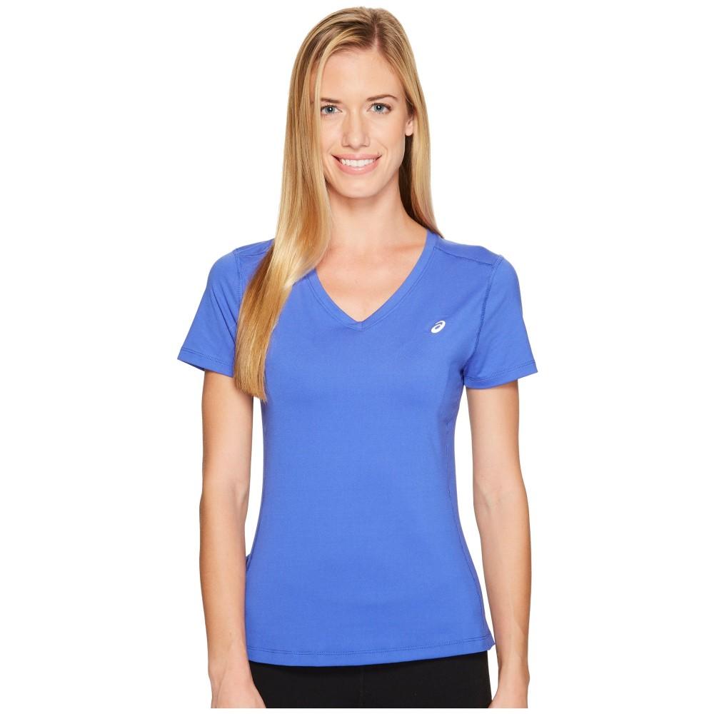 アシックス レディース トップス Tシャツ【ASX Dry Short Sleeve Shirt】Blue Purple