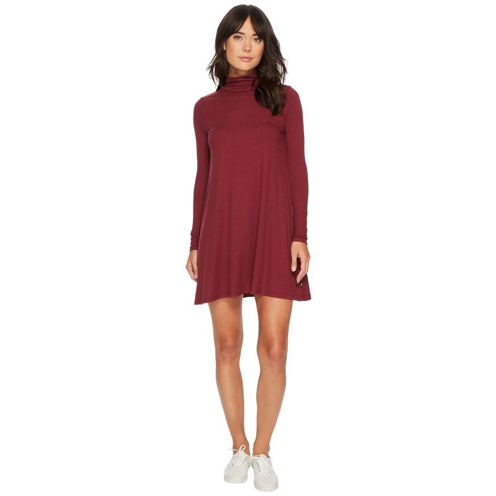 ヴァンズ レディース ワンピース・ドレス ワンピース【Whistler Dress】Burgundy