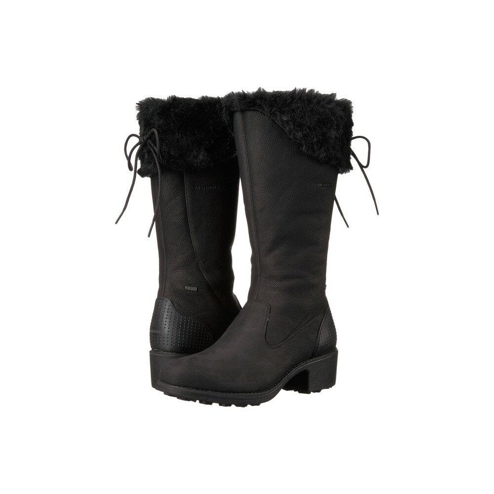 メレル レディース シューズ・靴 ブーツ【Chateau Tall Zip Polar Waterproof】Black