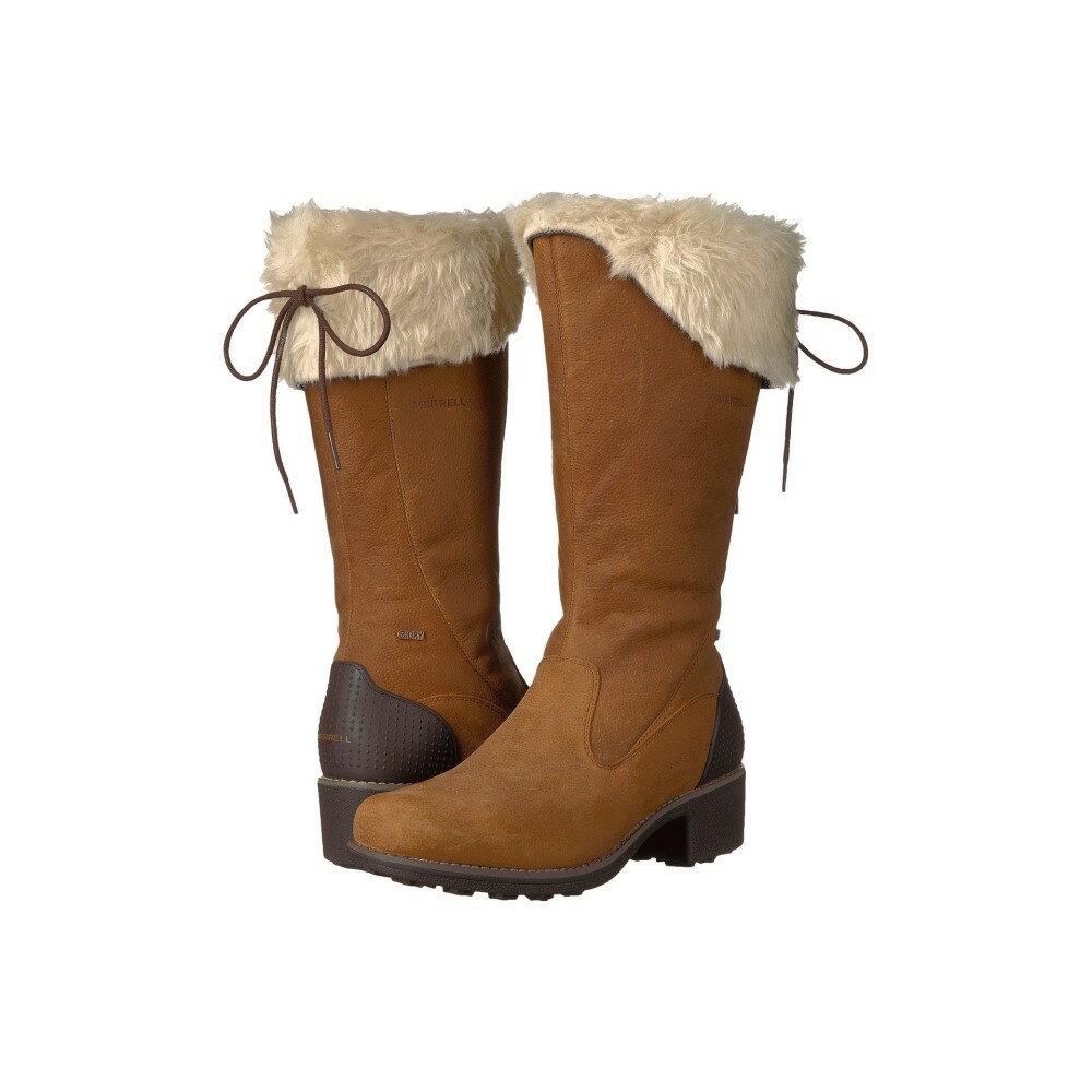 メレル レディース シューズ・靴 ブーツ【Chateau Tall Zip Polar Waterproof】Merrell Oak