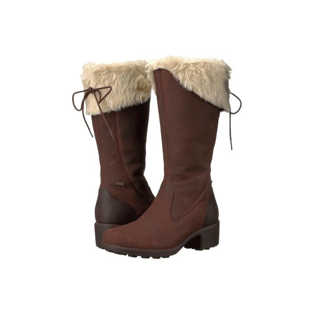 メレル レディース シューズ・靴 ブーツ【Chateau Tall Zip Polar Waterproof】Brunette