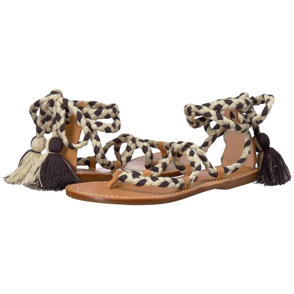 ソルドス レディース シューズ・靴 サンダル・ミュール【Gladiator Lace-Up Sandal】Black/Natural