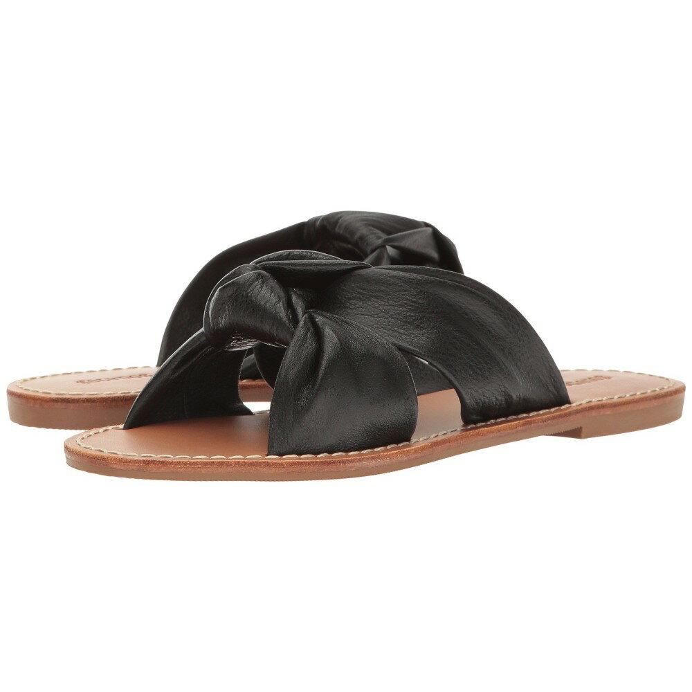 ソルドス レディース シューズ・靴 サンダル・ミュール【Knotted Slide Sandal】Black