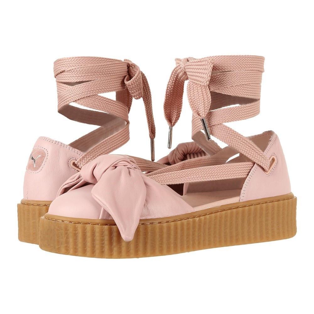 プーマ レディース シューズ・靴 サンダル・ミュール【Creeper Bandana Sandal】Silver Pink/Silver Pink