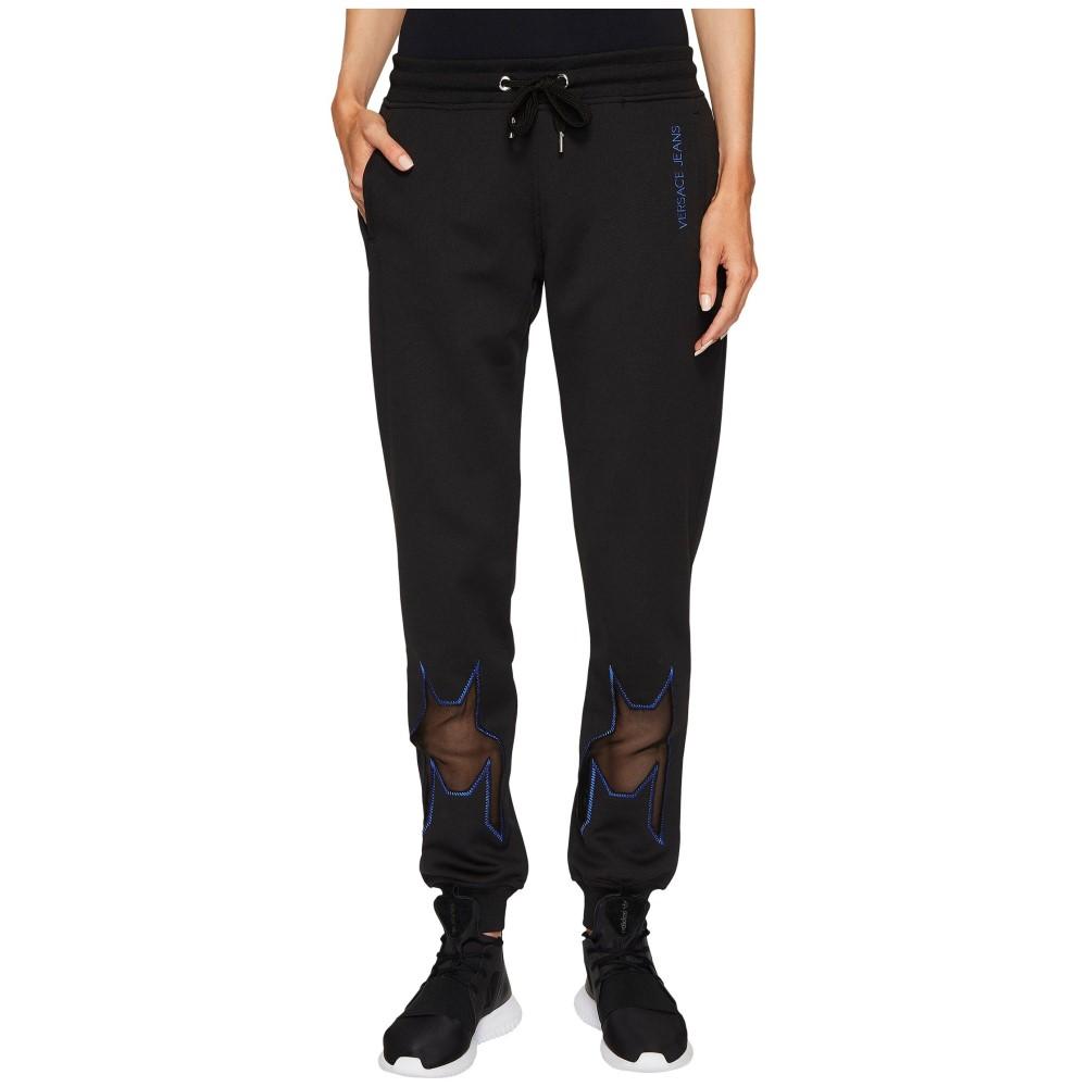 ヴェルサーチ レディース ボトムス・パンツ ジョガーパンツ【Dressy Skinny Jogger Pants】Nero