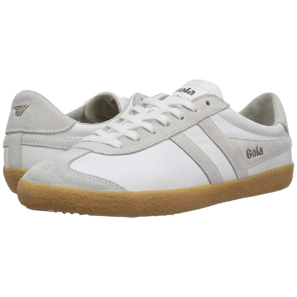 ゴーラ メンズ シューズ・靴 スニーカー【Specialist Leather】White/White/Gum
