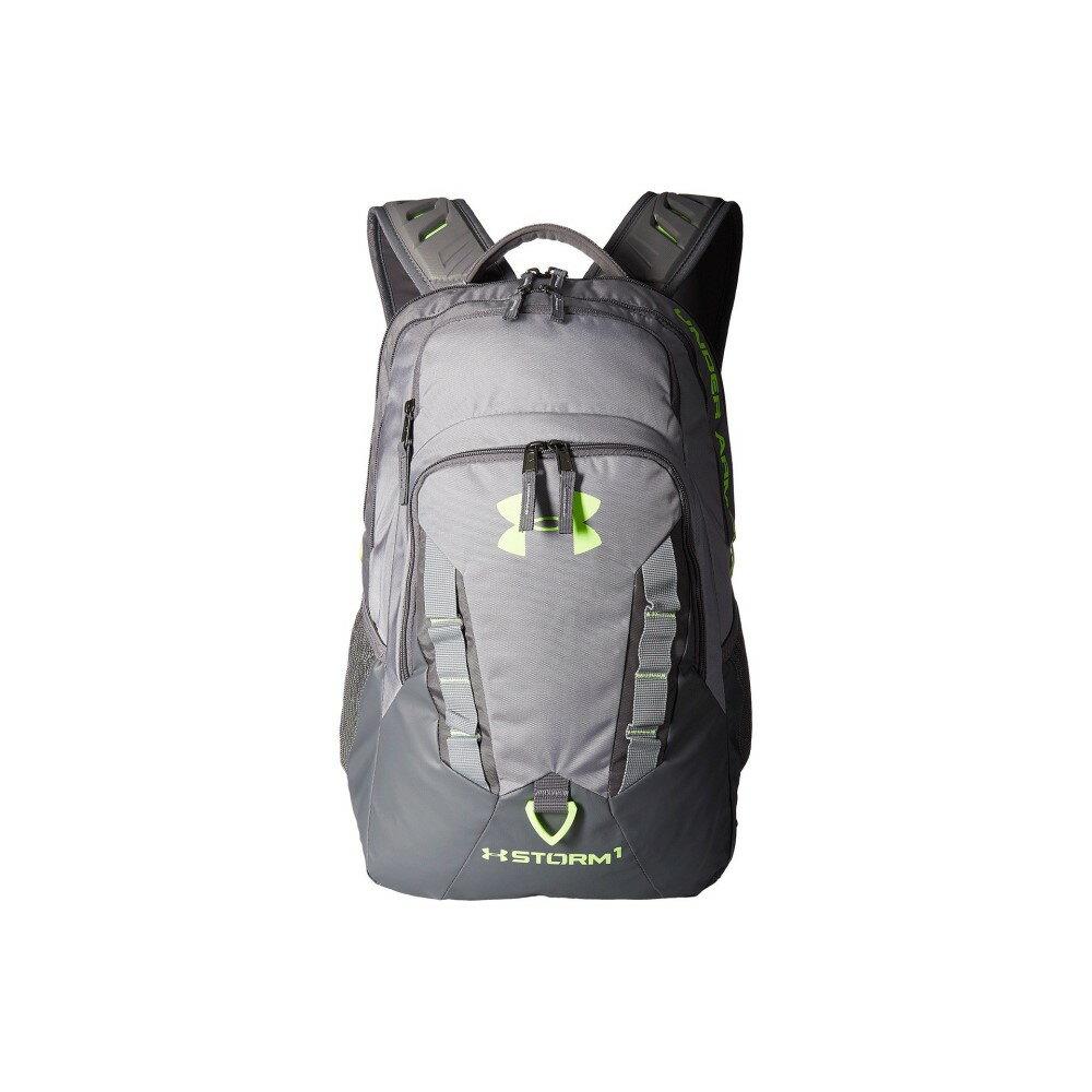アンダーアーマー メンズ バッグ バックパック・リュック【UA Recruit Backpack】Steel/Graphite/Quirky Lime