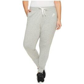 ナイキ レディース ボトムス・パンツ スウェット・ジャージ【Sportswear Gym Classic Pant (Size 1X-3X)】Dark Grey Heather/Sail