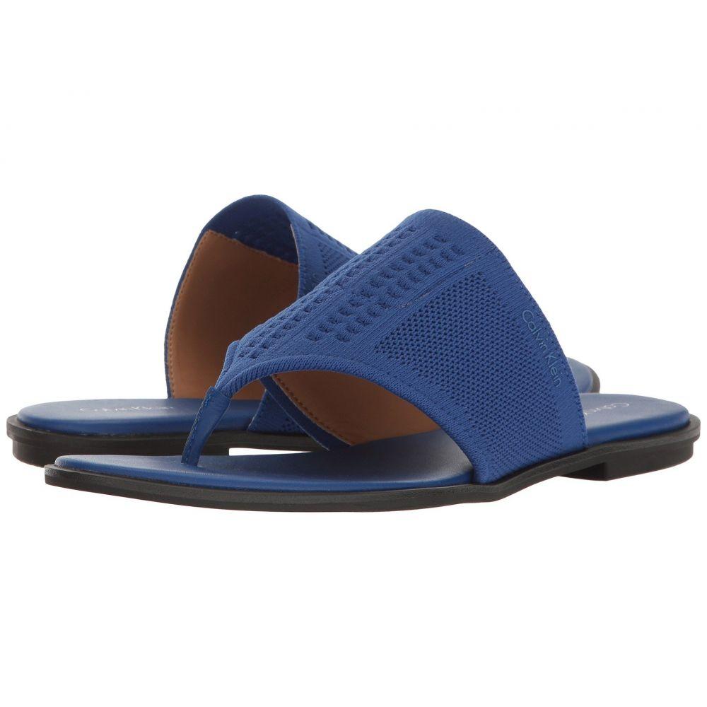 カルバンクライン レディース シューズ・靴 サンダル・ミュール【Blossom】Fearless Blue Stretch Knit