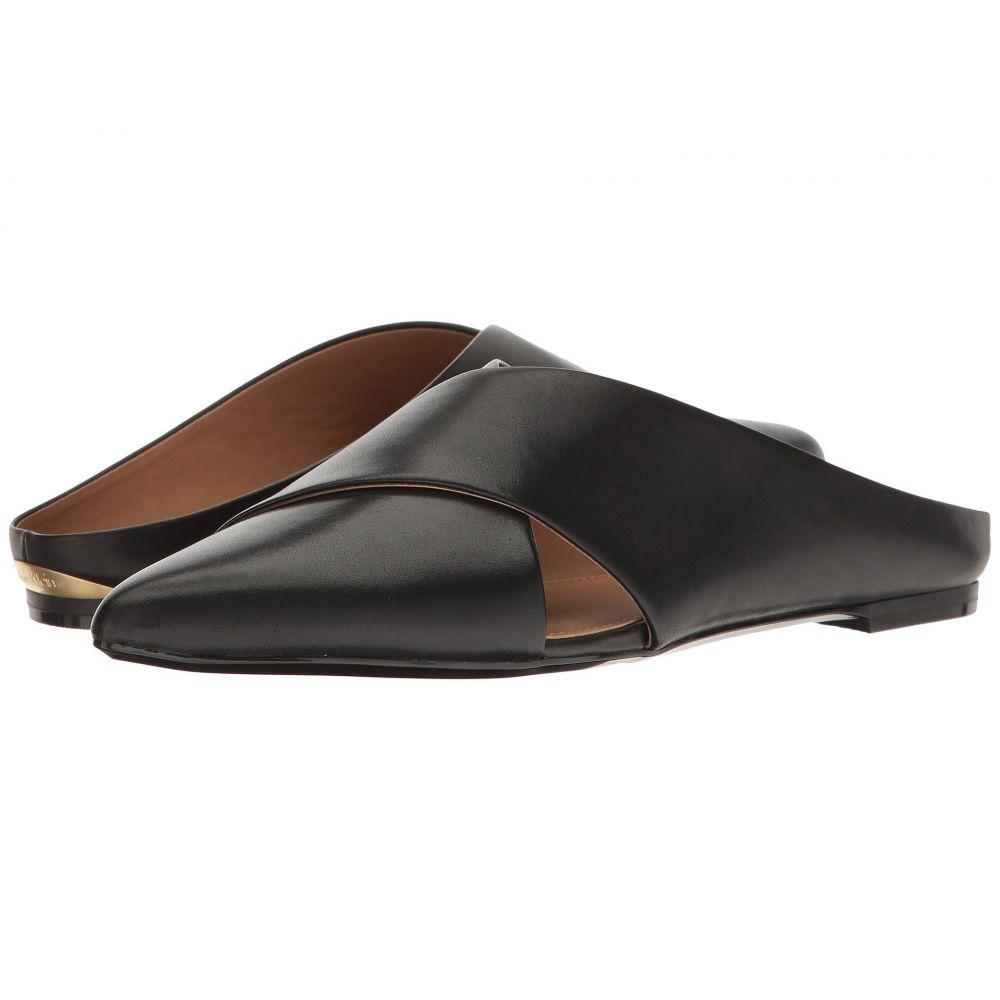 カルバンクライン レディース シューズ・靴 サンダル・ミュール【Gerda】Black Leather