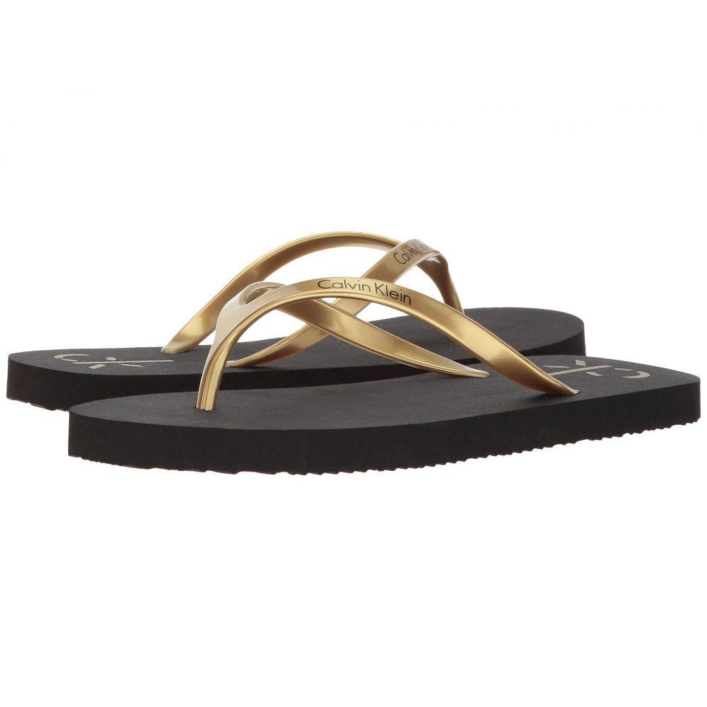 カルバンクライン レディース シューズ・靴 サンダル・ミュール【Sarinah】Gold