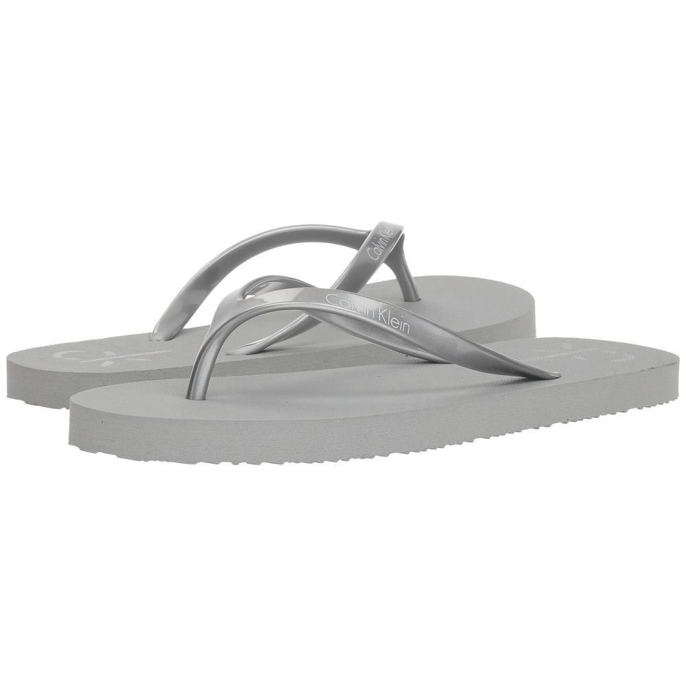 カルバンクライン レディース シューズ・靴 サンダル・ミュール【Sarinah】Silver
