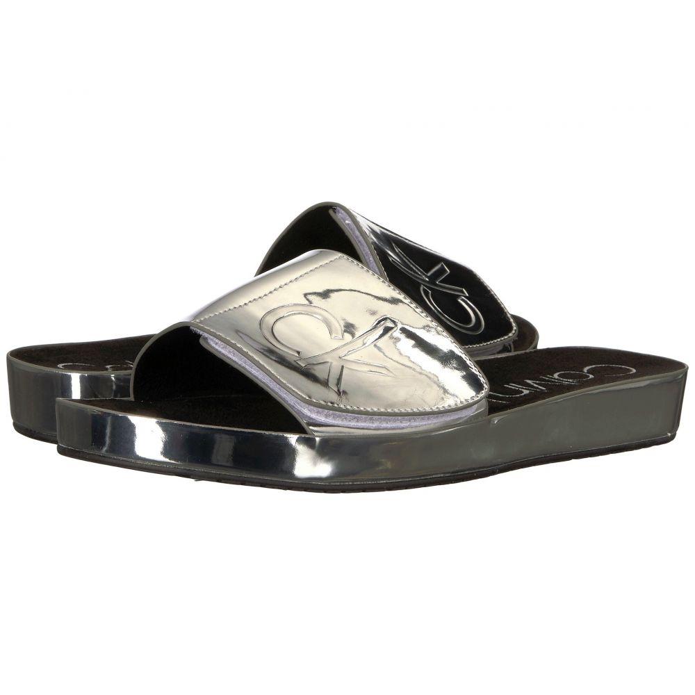 カルバンクライン レディース シューズ・靴 サンダル・ミュール【Marlina】Silver
