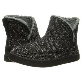 サヌーク レディース シューズ・靴 ブーツ【Cush N' Blaze】Black Chevron Knit