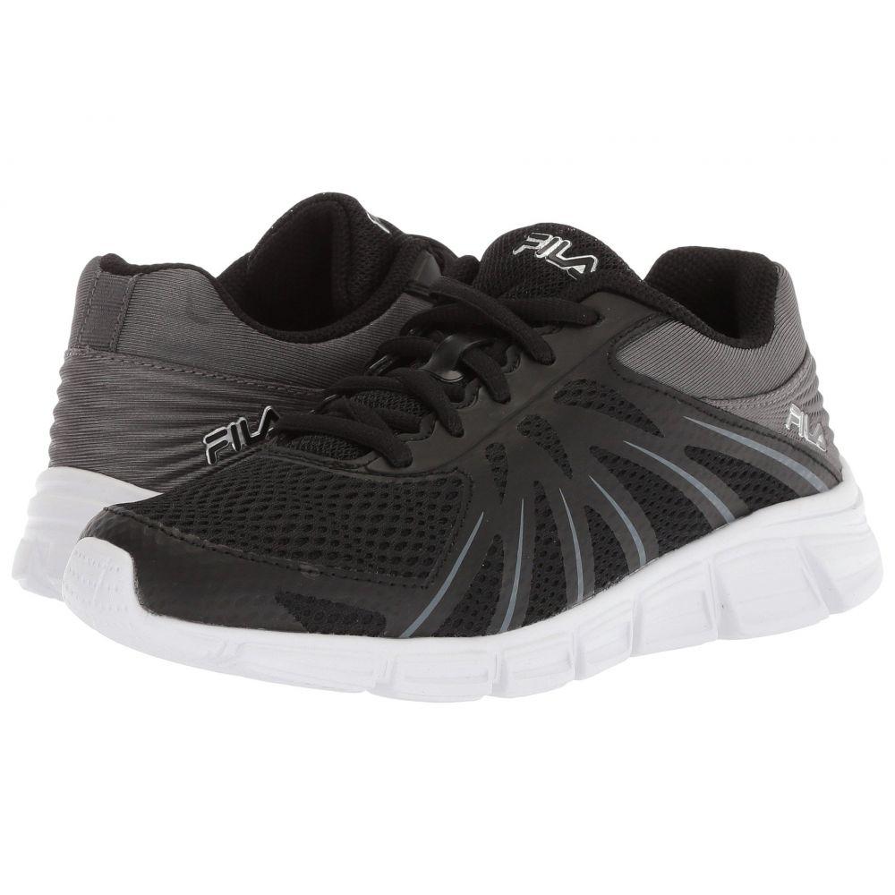 フィラ レディース ランニング・ウォーキング シューズ・靴【Memory Fraction Running】Black/Dark Shadow/Metallic Silver