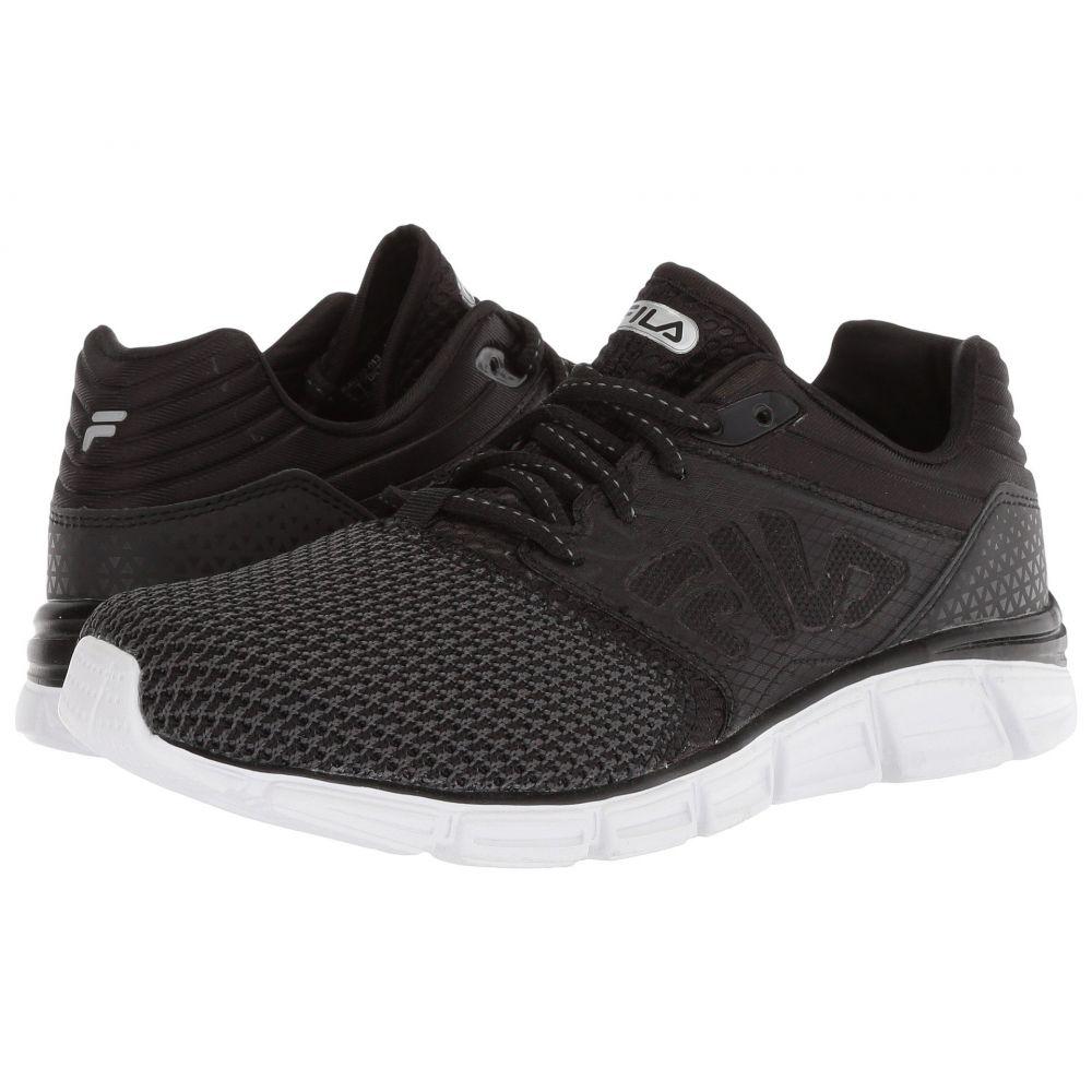 フィラ レディース ランニング・ウォーキング シューズ・靴【Memory Multiswift 2 Running】Black/Black/White