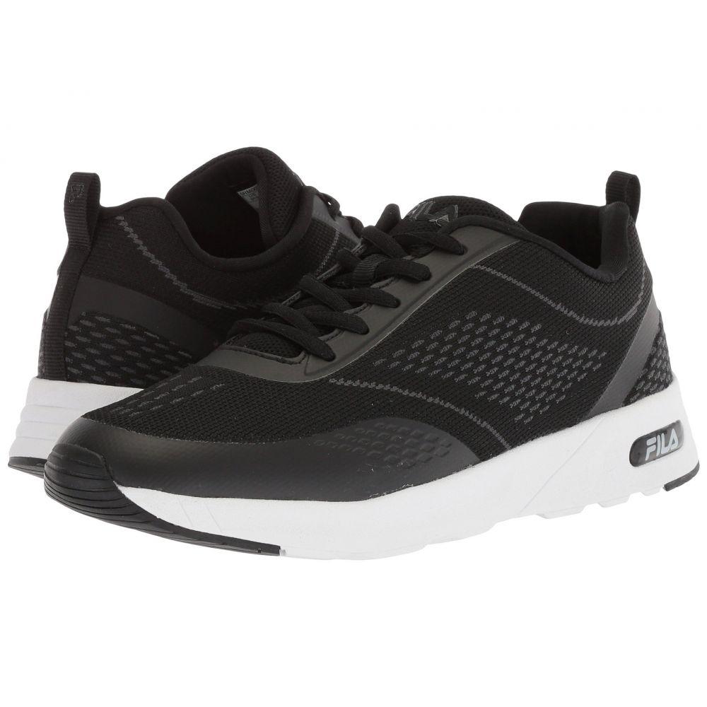 フィラ レディース ランニング・ウォーキング シューズ・靴【Memory Chelsea Knit Running】Black/Black/White