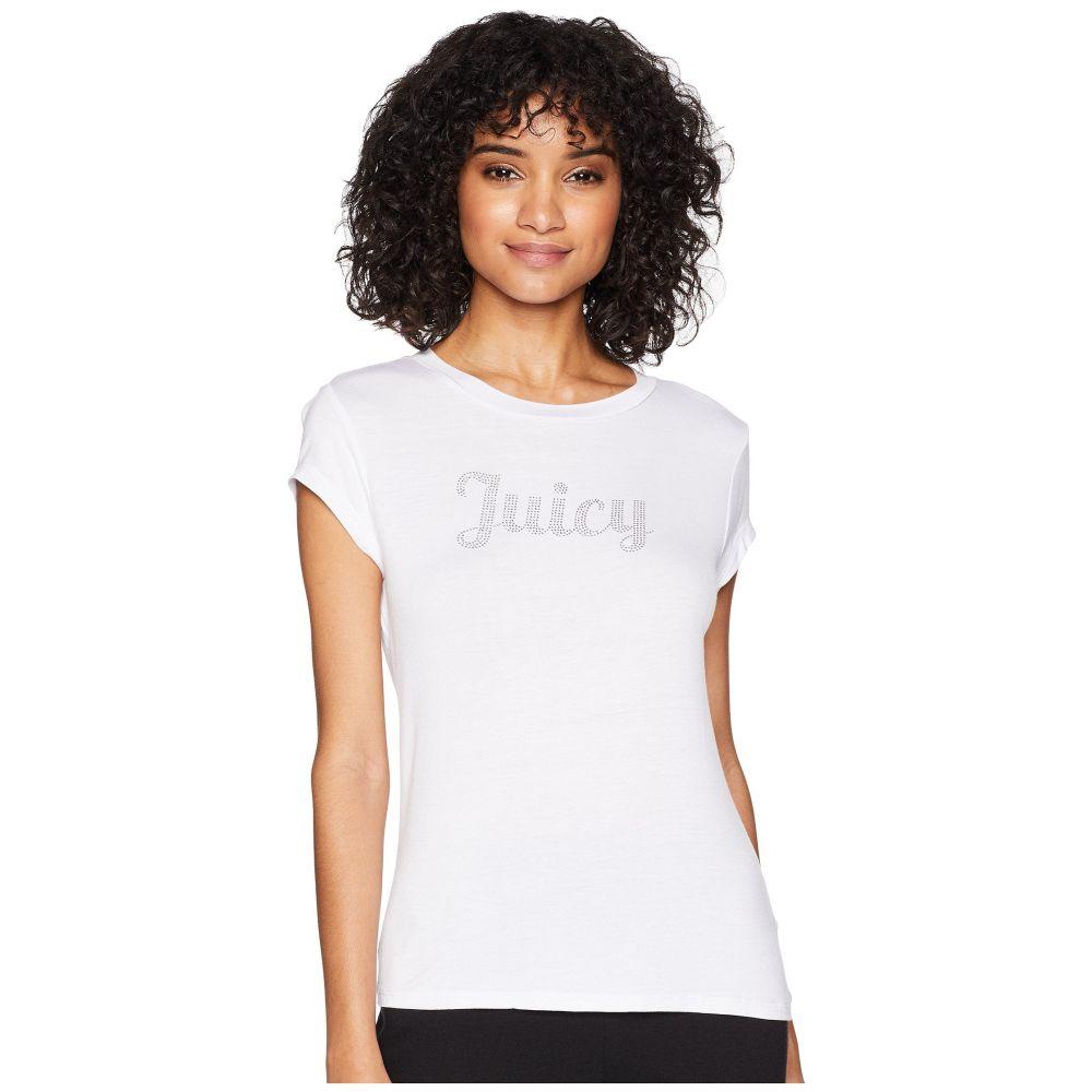 ジューシークチュール レディース トップス Tシャツ【Juicy Short Sleeve Tee】White