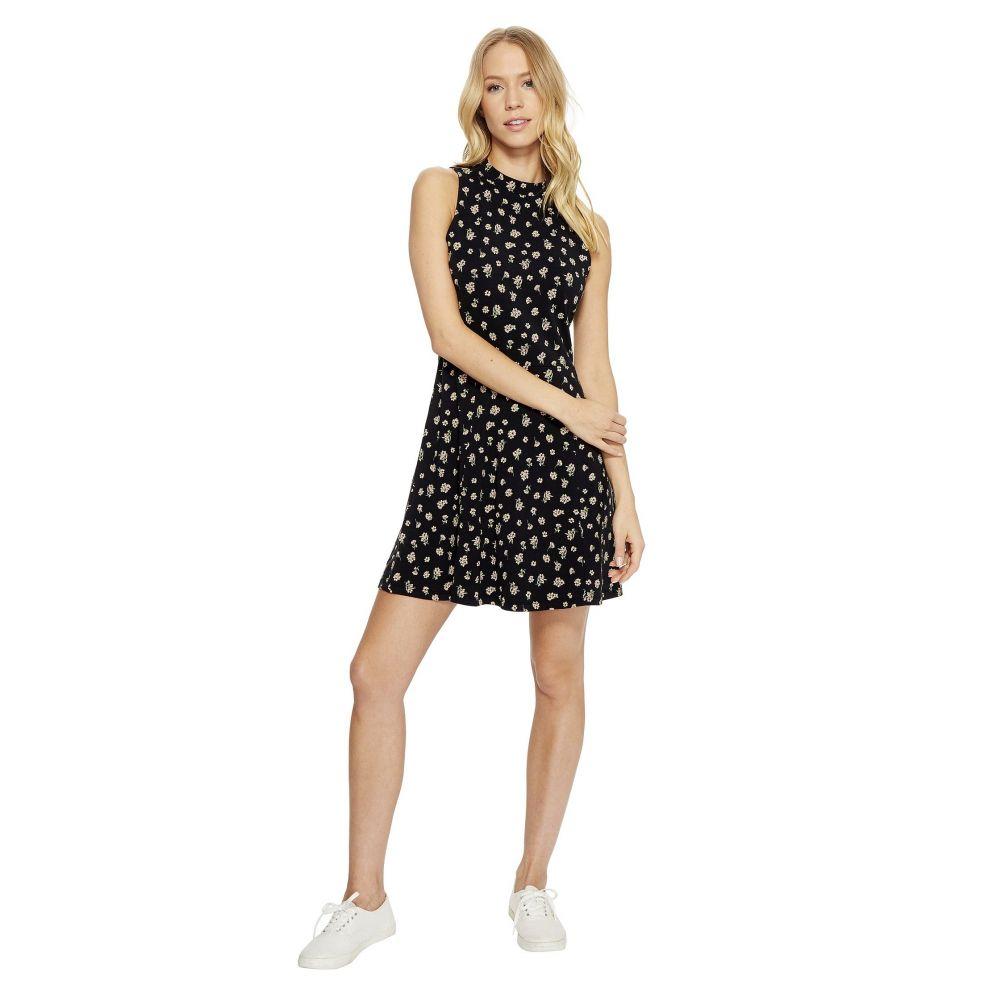 ヴァンズ レディース ワンピース・ドレス ワンピース【Tizzy Dress】Black Ditsy Poppy
