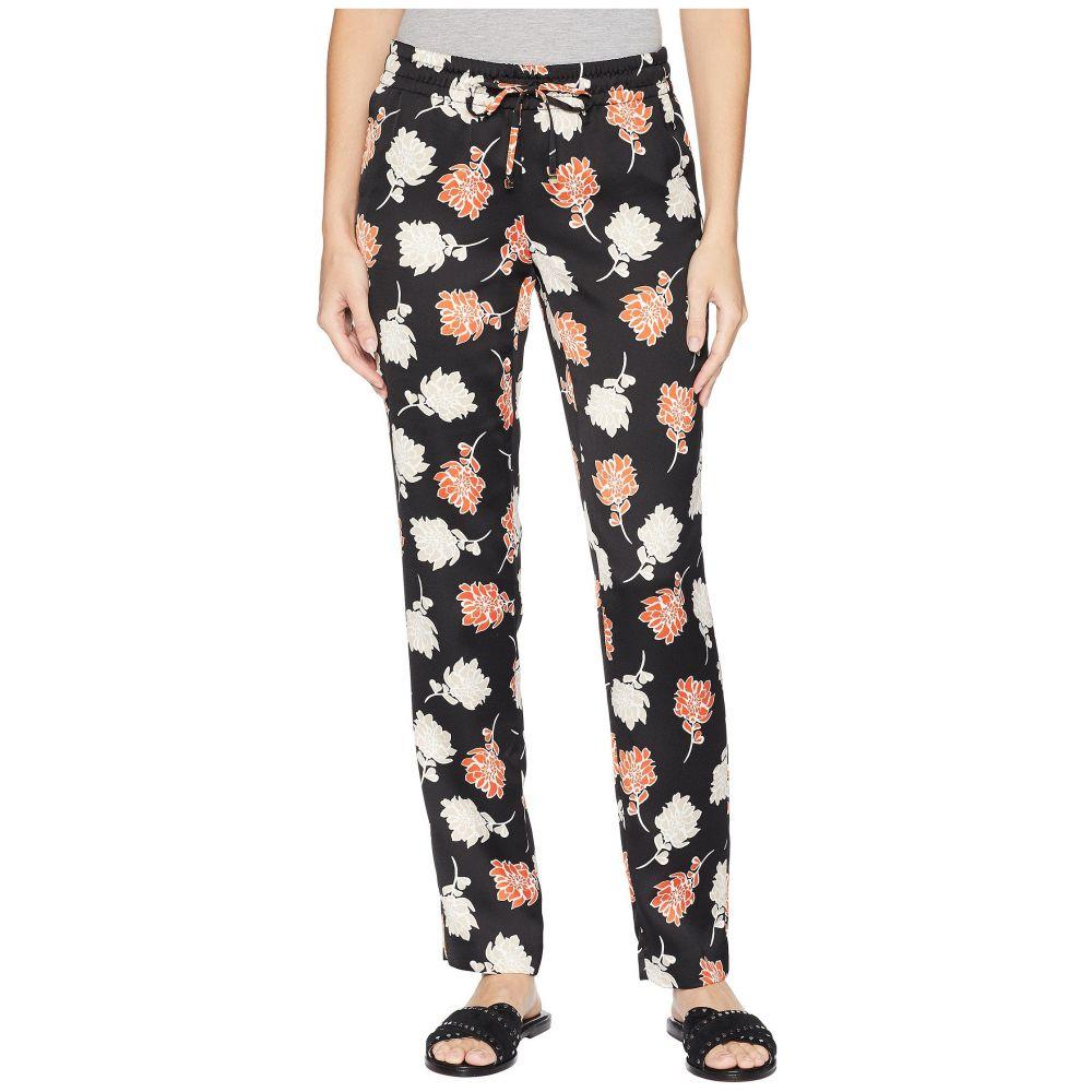 カルバンクライン レディース ボトムス・パンツ【Floral Drawstring Pants】Khaki Multi
