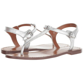 621da7aea0f4 コーチ レディース シューズ・靴 サンダル・ミュール【T-Strap Sandal】Silver Metallic