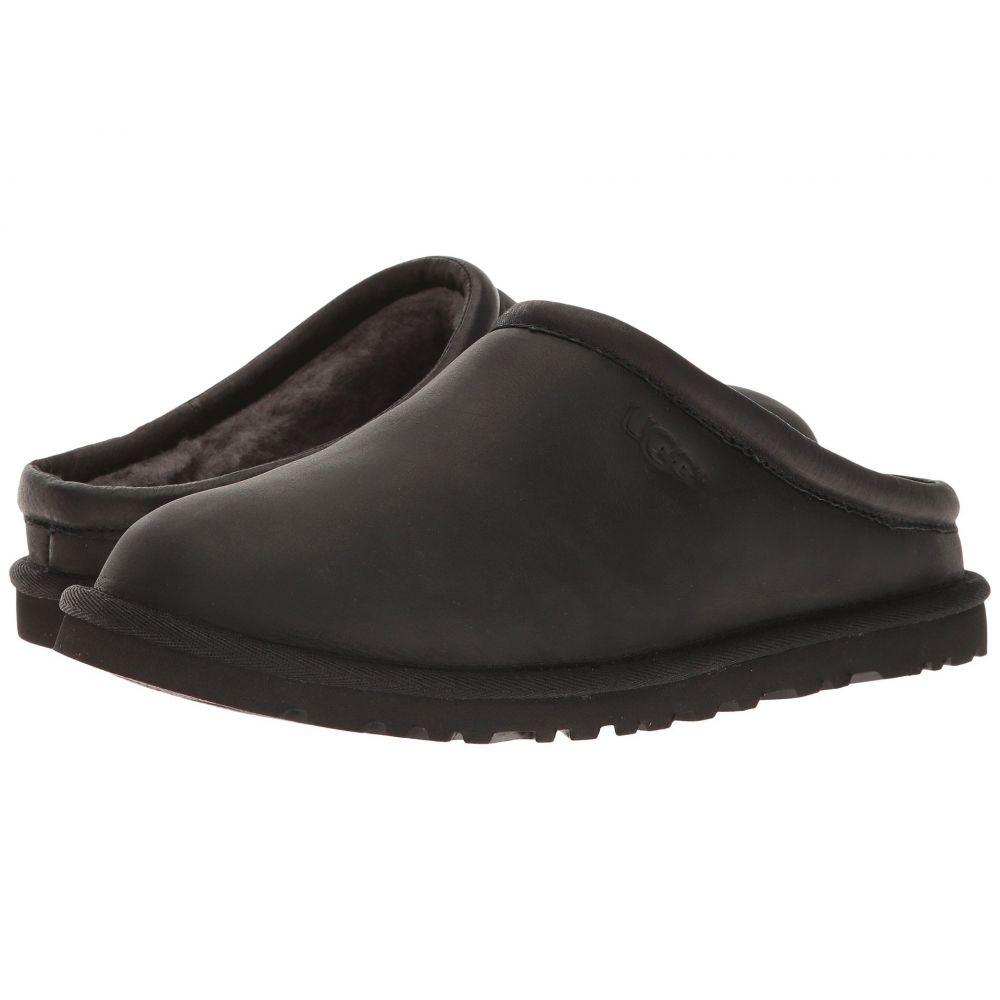アグ メンズ シューズ・靴 クロッグ【Classic Clog】Black Leather