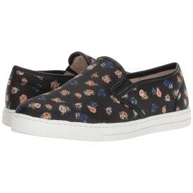 コーチ レディース シューズ・靴 スリッポン・フラット【C117 Slip-On Sneaker】Black Multi Floral Leather