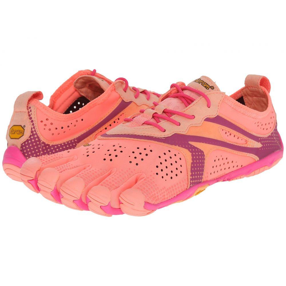 ビブラムファイブフィンガーズ レディース ランニング・ウォーキング シューズ・靴【V - Run】Pink/Red