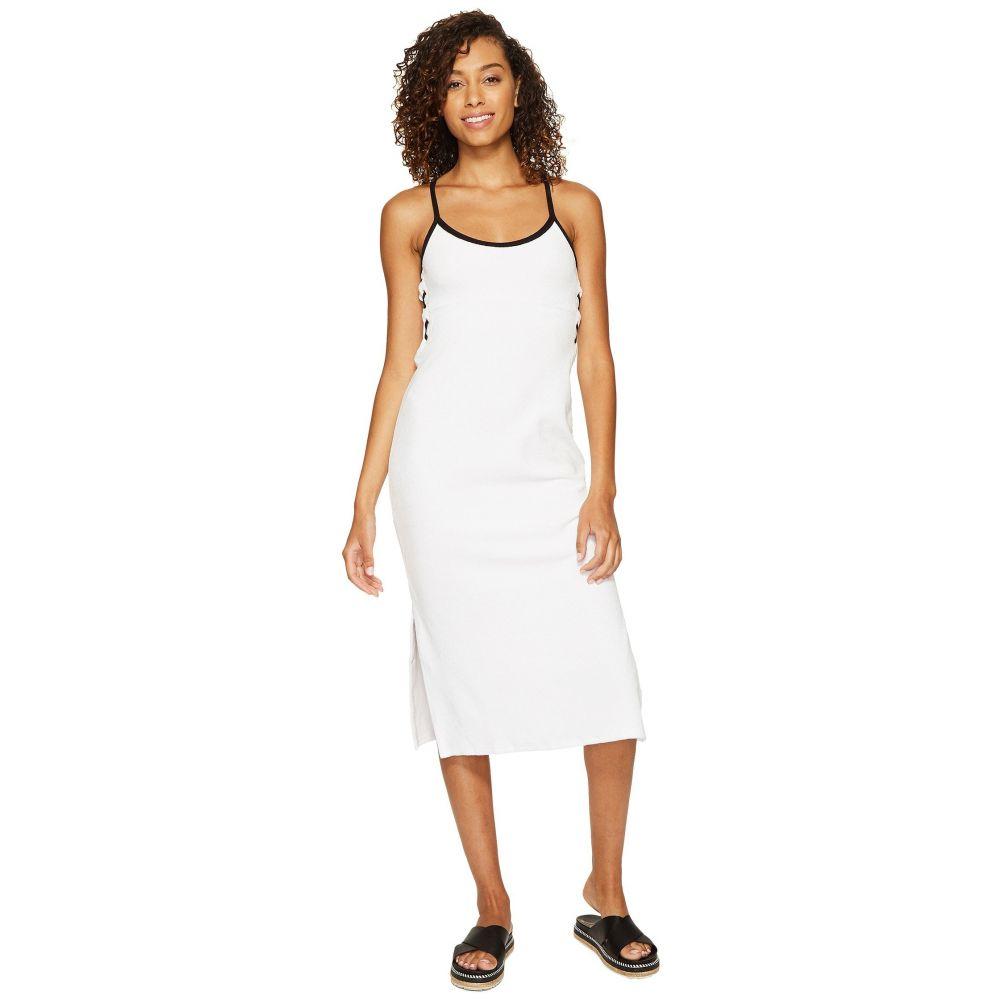 ジューシークチュール レディース ワンピース・ドレス ワンピース【Venice Beach Microterry Laced Slip Dress】White