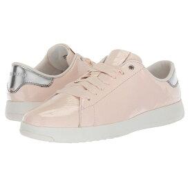 コールハーン レディース テニス シューズ・靴【Grandpro Tennis】Peach Blush Patent
