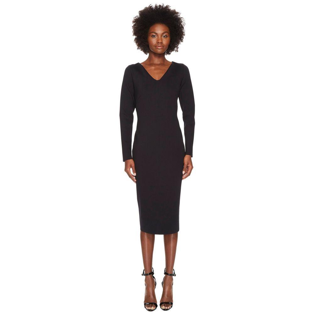エスカーダ レディース ワンピース・ドレス ワンピース【Diamonda Long Sleeve Dress】Black