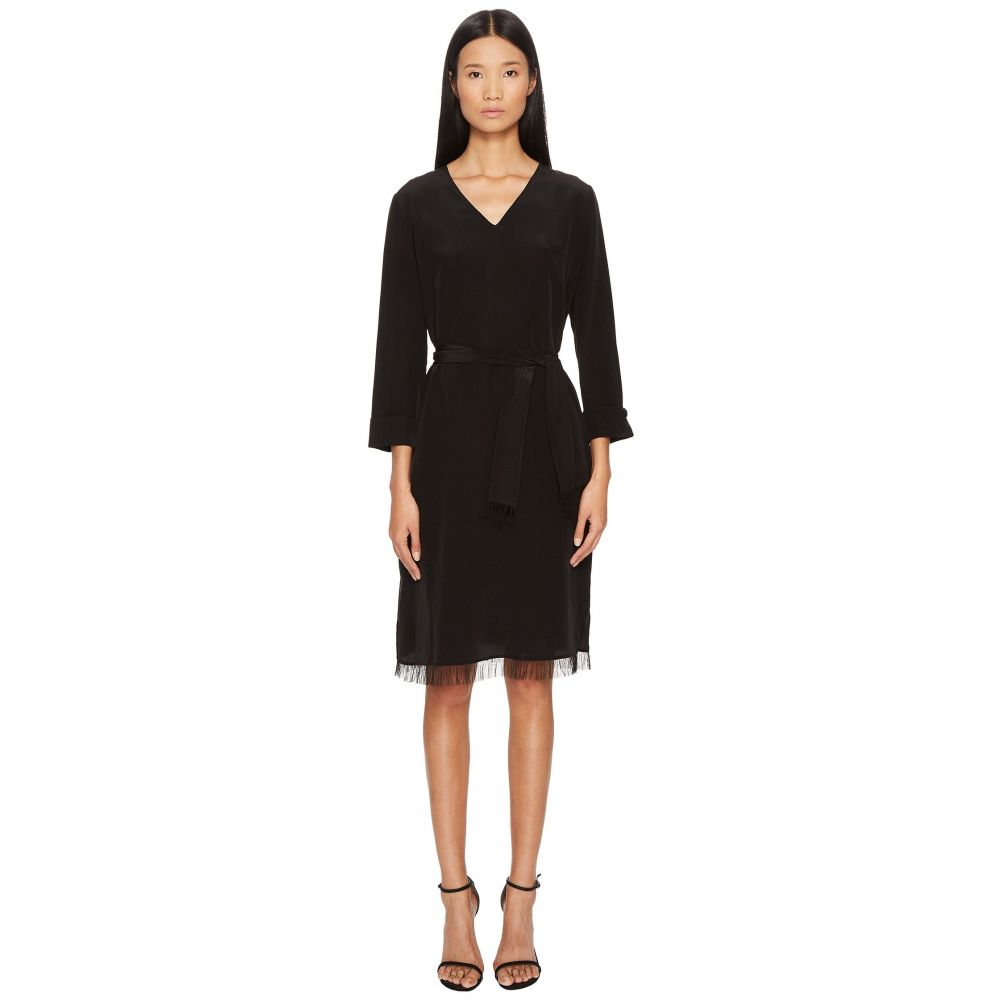 エスカーダ レディース ワンピース・ドレス ワンピース【Darlie Long Sleeve Dress】Black