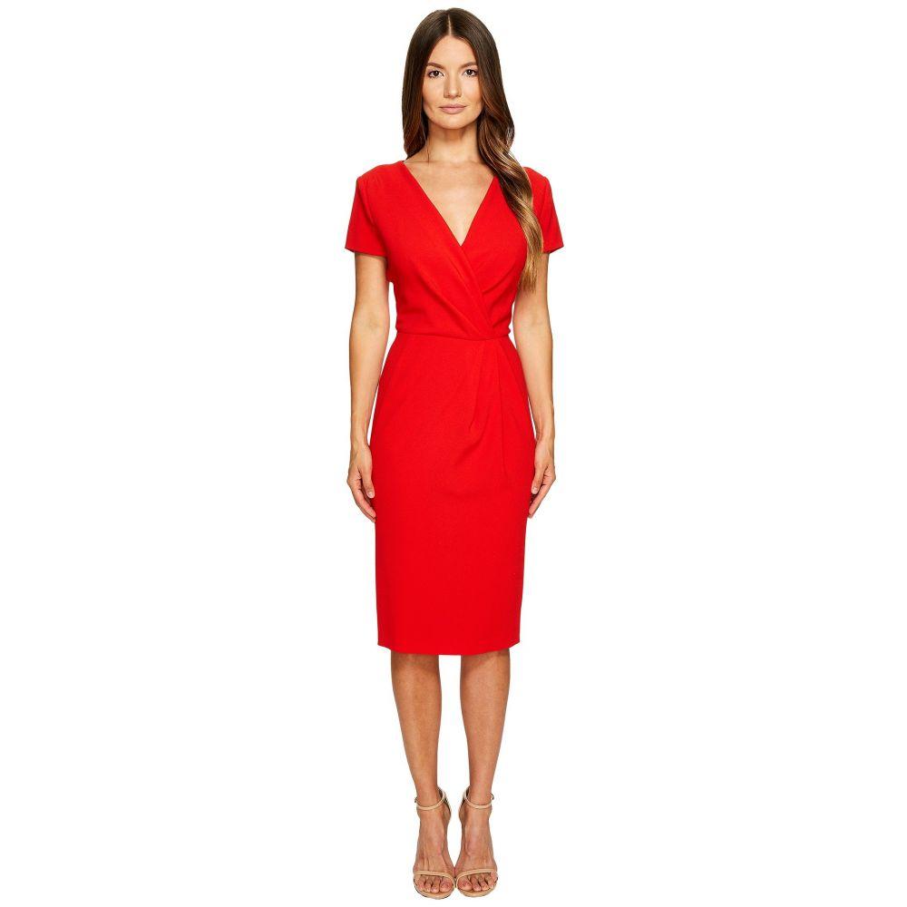 エスカーダ レディース ワンピース・ドレス ワンピース【Dsipora Short Sleeve Wrap Dress】Acrylic Red