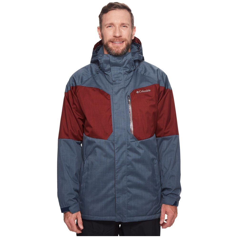 コロンビア メンズ スキー・スノーボード アウター【Big & Tall Alpine Action Jacket】Mystery/Deep Rust