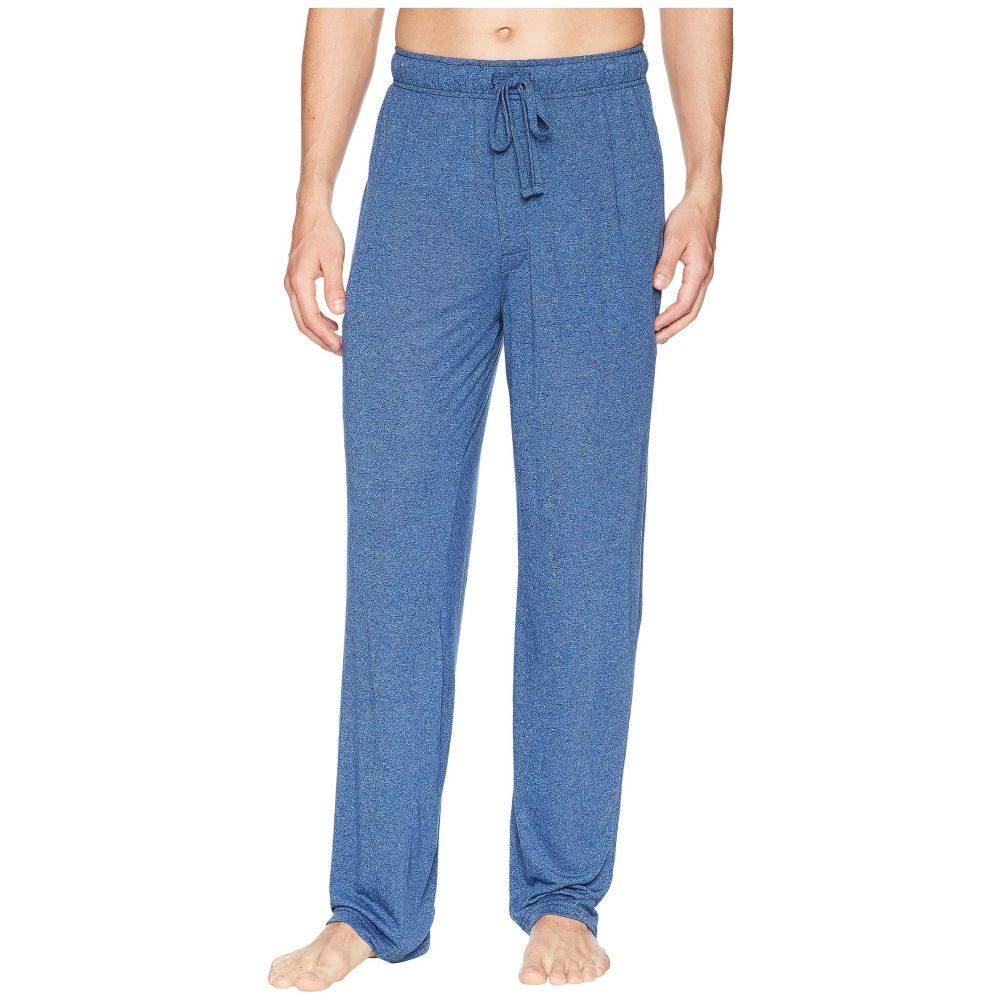ジョッキー メンズ インナー・下着 パジャマ・ボトムのみ【50 Rayon/50 Poly Knit Sleep Pants】Blue Tranquil/Stone Blue