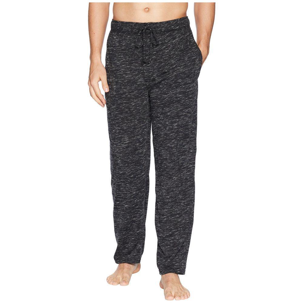 ジョッキー メンズ インナー・下着 パジャマ・ボトムのみ【Tiger Heather Knit Sleep Pants】Caviar/Bright White
