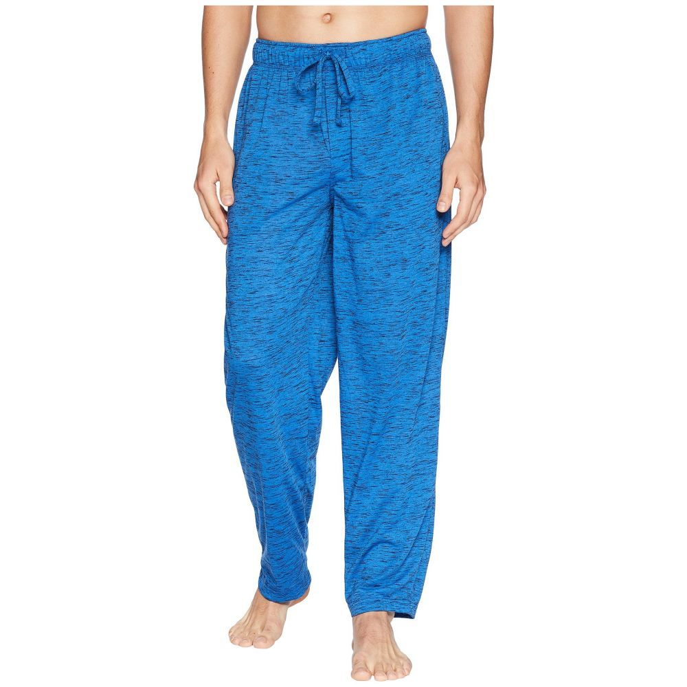 ジョッキー メンズ インナー・下着 パジャマ・ボトムのみ【Tiger Heather Knit Sleep Pants】Strong Blue/Caviar