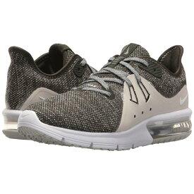 ナイキ レディース ランニング・ウォーキング シューズ・靴【Air Max Sequent 3】Sequoia/Metallic Platinum/White