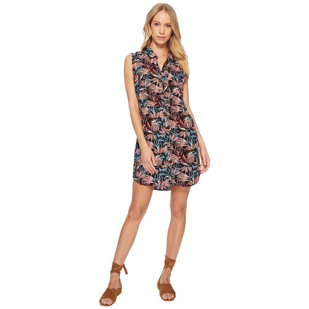 ヴァンズ レディース ワンピース・ドレス ワンピース【Tropic Camp Dress】Black California Floral