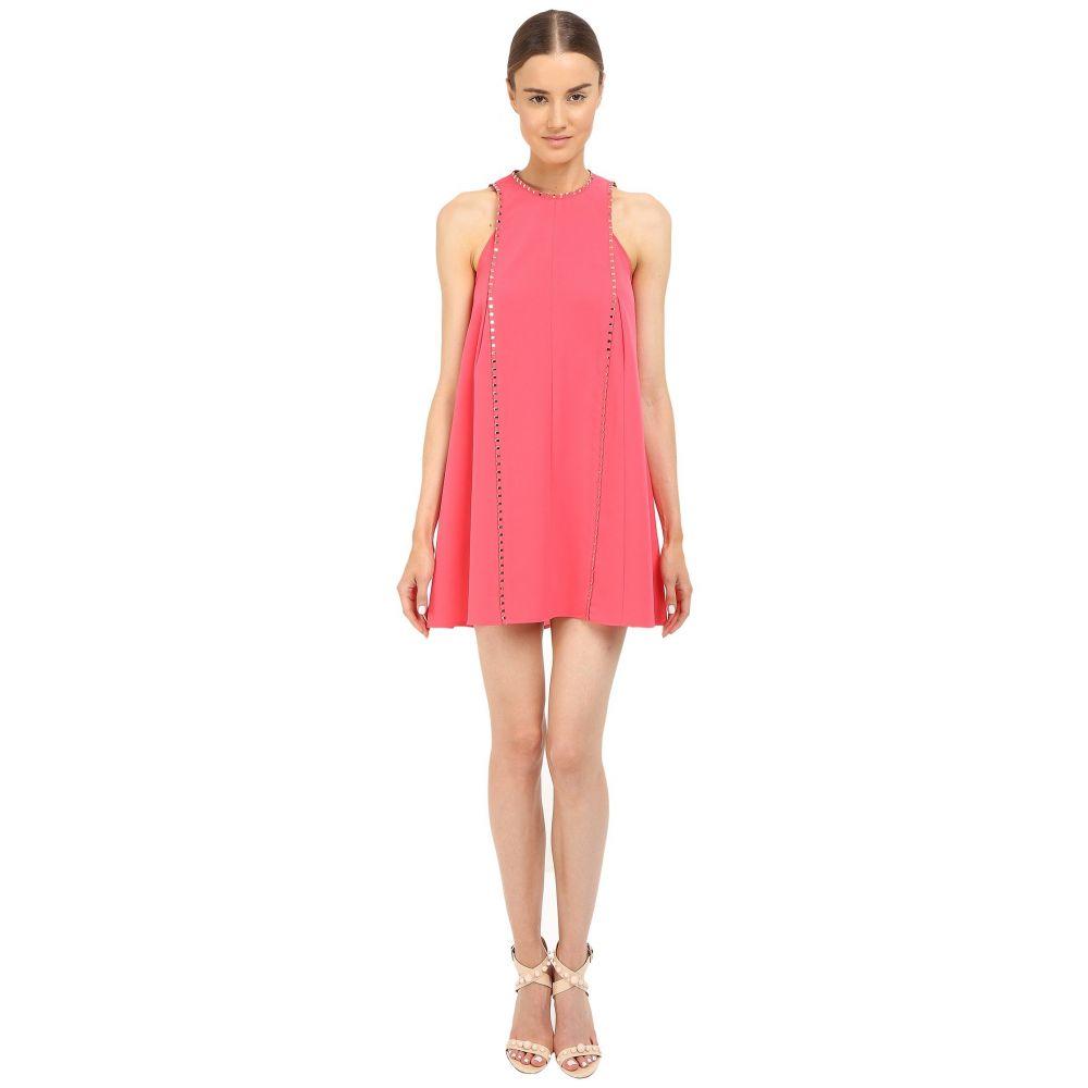 ヴェルサーチ レディース ワンピース・ドレス ワンピース【Coral A-Line Dress with Hardware Detail】Pink
