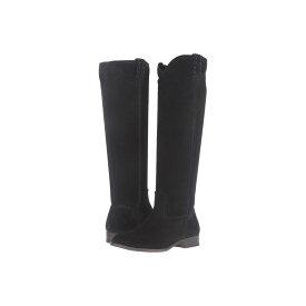 フライ レディース シューズ・靴 ブーツ【Cara Tall】Black Oiled Suede