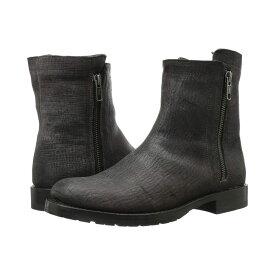 フライ レディース シューズ・靴 ブーツ【Natalie Double Zip】Charcoal Cut Vintage Leather